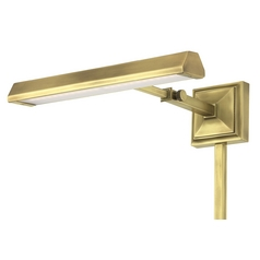 WAC Lighting Wac Lighting Burnished Brass LED Picture Light PL-LED14P-27-BB