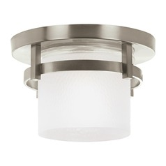 Sea Gull Lighting Eternity Brushed Nickel LED Close To Ceiling Light