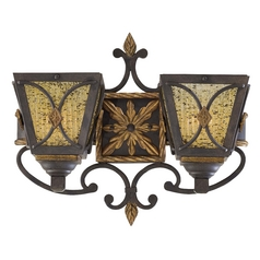 Art Deco Sconce Bronze Monte Titano by Metropolitan Lighting