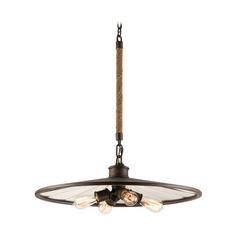Pendant Light in Brooklyn Bronze Finish