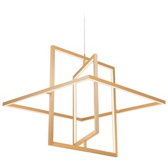 Kuzco Lighting Modern Soft Gold LED Pendant 3000K 1050LM