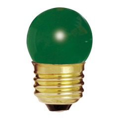 Incandescent S11 Light Bulb Medium Base 120V by Satco
