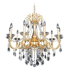 Barret 10 Light Crystal Chandelier