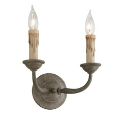 Troy Lighting Cyrano Earthen Bronze Sconce