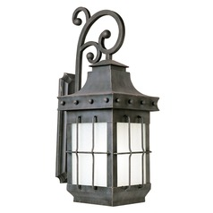Maxim Lighting Nantucket Country Forge LED Outdoor Wall Light
