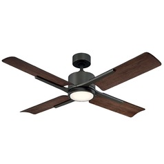 Modern Forms Oil Rubbed Bronze 56-Inch LED Smart Ceiling Fan 1600LM 3000K