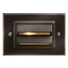 Modern LED Recessed Deck Light in Bronze Finish