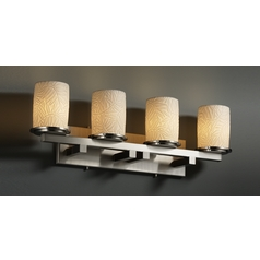 Justice Design Group Limoges Collection Bathroom Light