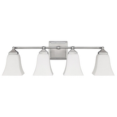 Capital Lighting Brushed Nickel Bathroom Light
