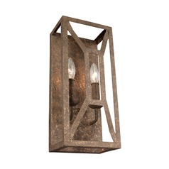 Feiss Lighting Marquelle Distressed Goldleaf Sconce