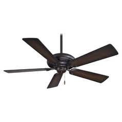 52-Inch Ceiling Fan Without Light in Kocoa Finish