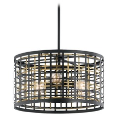 Pendant Light Black Aldergate by Kichler Lighting