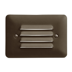 Kichler LED Recessed Deck Light in Bronzed Brass Finish