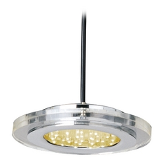 ET2 Lighting Modern LED Mini-Pendant Light with Clear Glass E30071-18