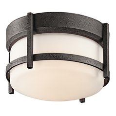 Kichler Outdoor Ceiling Light in Iron Finish