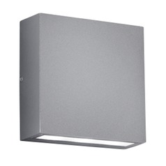 Arnsberg Thames Light Grey / Titanium LED Outdoor Wall Light