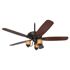 Hunter Fan Company Torrence Provence Crackle Ceiling Fan with Light