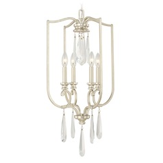 Capital Lighting Cambridge Winter Gold Pendant Light