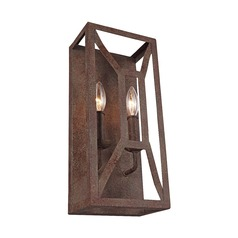Feiss Lighting Marquelle Weathered Iron Sconce