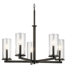 Kichler Lighting Crosby Olde Bronze Chandelier