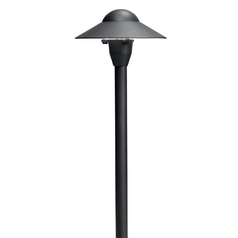 Kichler Path Light in Textured Black Finish