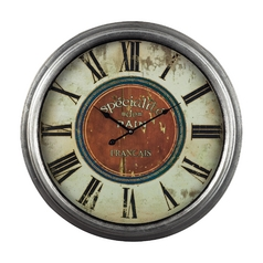 Sterling Lighting Clock in _ Finish 118-024