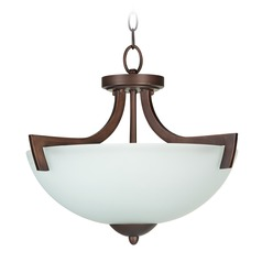 Craftmade Almeda Old Bronze Convertible Semi-Flushmount Light