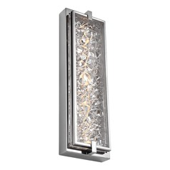 Feiss Lighting Erin Polished Stainless Steel LED Outdoor Wall Light