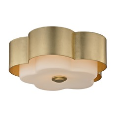 Troy Lighting Allure Gold Leaf Flushmount Light