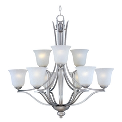 Maxim Lighting Madera Satin Silver Chandelier