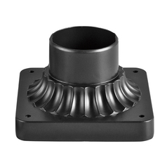 Kichler Lighting Black (painted) Pier Mount