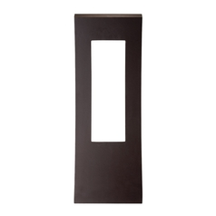 Modern Forms Dawn Bronze LED Outdoor Wall Light