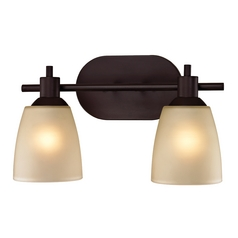 Cornerstone Lighting Jackson Oil Rubbed Bronze Bathroom Light