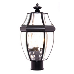 Maxim Lighting South Park Black Post Light
