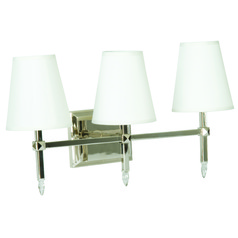 Jeremiah Garnett Polished Nickel Bathroom Light