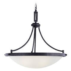 Sea Gull Lighting Winnetka Blacksmith Pendant Light