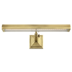 Wac Lighting Burnished Brass LED Picture Light