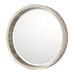 Capital Lighting Winter Gold Round Mirror 31x31