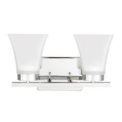 Sea Gull Lighting Bayfield Chrome LED Bathroom Light