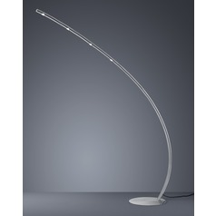 Arnsberg Columbus Matte Nickel LED Floor Lamp