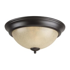 Craftmade Lighting X713OB 13-Inch Flushmount Ceiling Light in Oiled Bronze