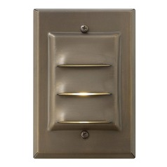 Modern LED Recessed Deck Light in Matte Bronze Finish
