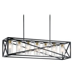 Island Light Black Moorgate by Kichler Lighting