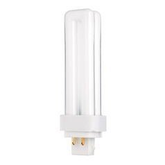 18-Watt Quad Tube Compact Fluorescent Light Bulb with G24Q-24 Base