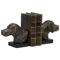 Cyan Design Hound Dog Bronze Bookend