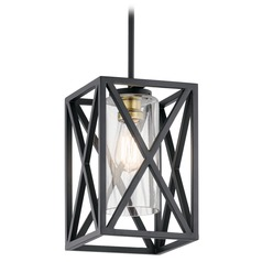Pendant Light Black Moorgate by Kichler Lighting