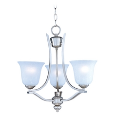 Maxim Lighting Madera Satin Silver Mini-Chandelier