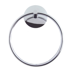 Atlas Homewares Modern Towel Ring in Polished Chrome Finish LOTR-CH
