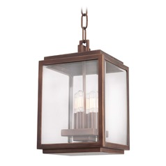 Kalco Chester Copper Patina Outdoor Hanging Light