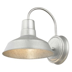 Barn Light Galvanized 8.5-Inch Wide by Design Classics Lighting